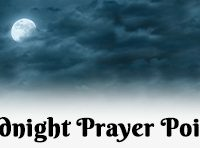 Midnigh prayer